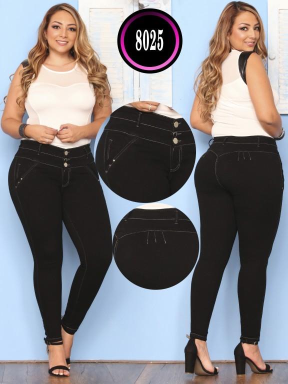 Jeans Levantacola - Ref. 119 -8025 PLUS