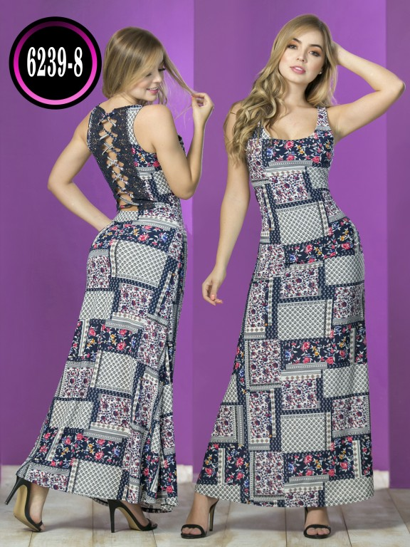 Colombian dress - Ref. 119 -6239-8