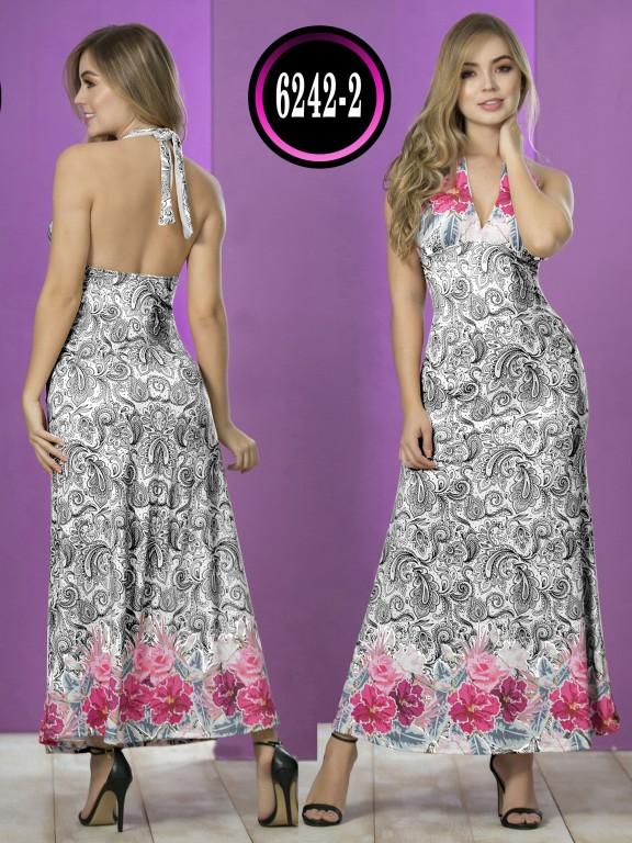 Vestido  Colombiano - Ref. 119 -6242-2