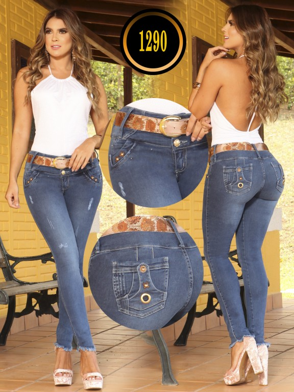 Colombian Butt lifting Jean - Ref. 119 -1290 TB