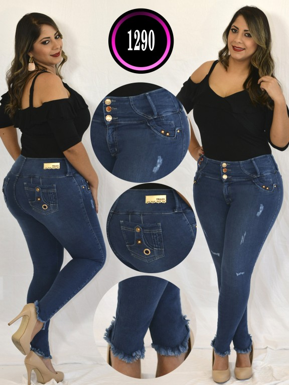 Jeans Colombiano Plus Size - Ref. 119 -1290 TB PLUS