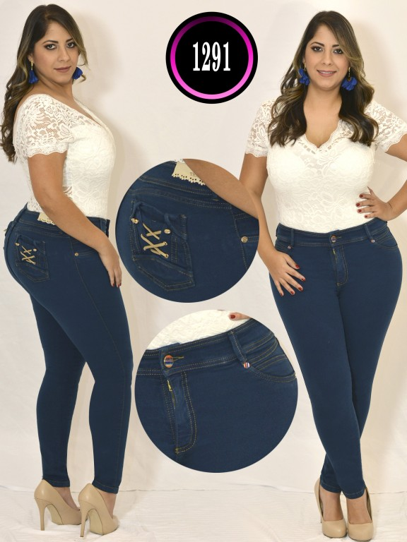 Jeans Colombiano Plus Size - Ref. 119 -1291 TB PLUS