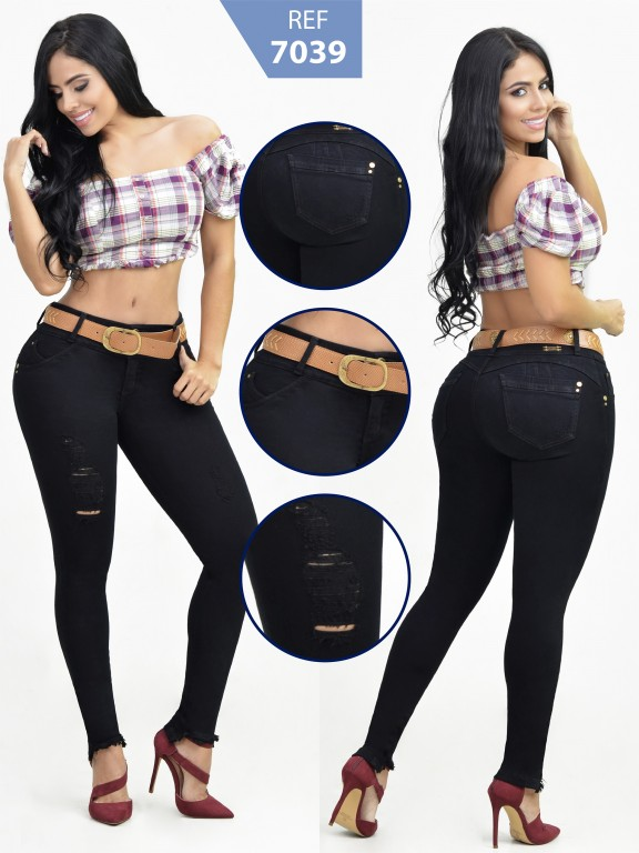 Jeans Levancola Colombiano - Ref. 261 -7039 R