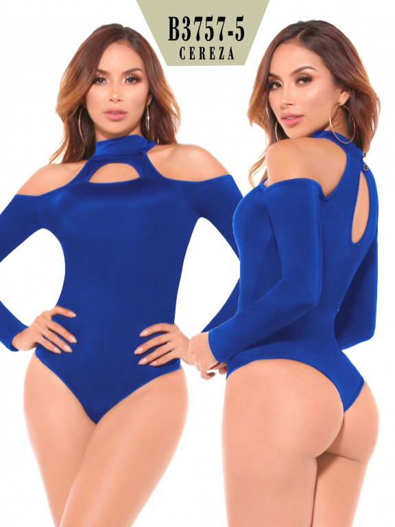 Body Reductor Colombiano - Ref. 111 -3757-5 Azul