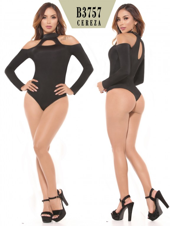 Body Reductor Colombiano - Ref. 111 -3757-2 Negro