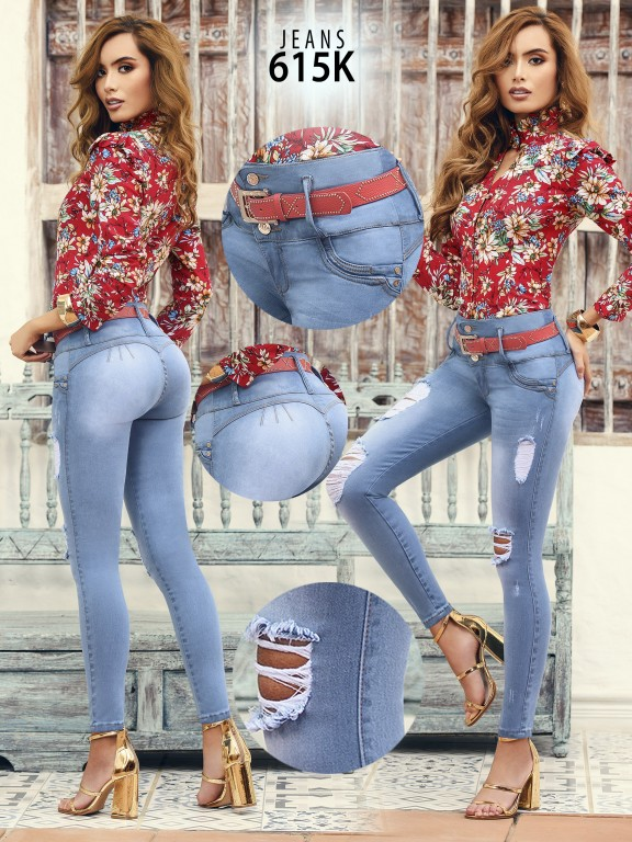 Colombian Butt lifting Jean - Ref. 119 -615K