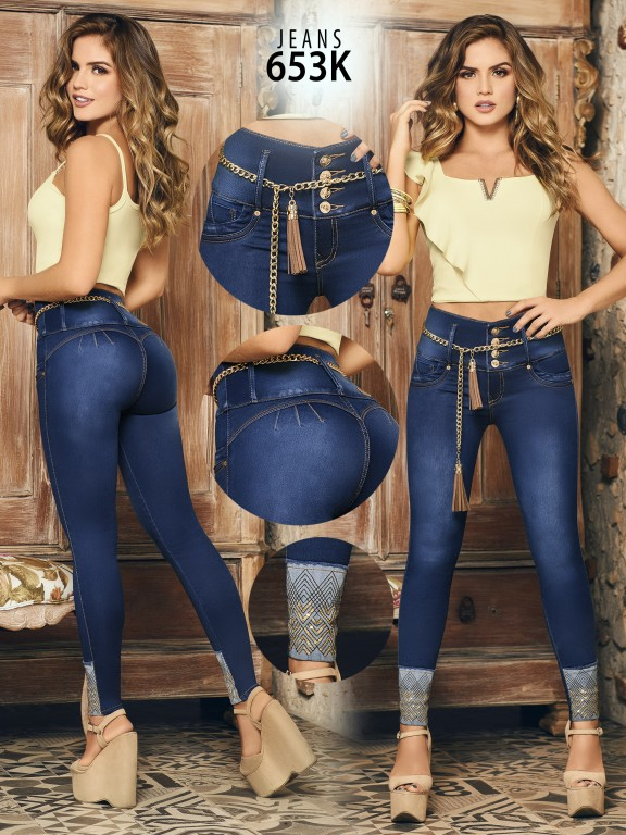 Colombian Butt lifting Jean - Ref. 119 -653K