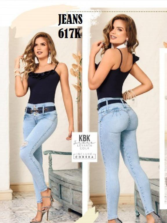 Colombian Butt lifting Jean - Ref. 119 -617K