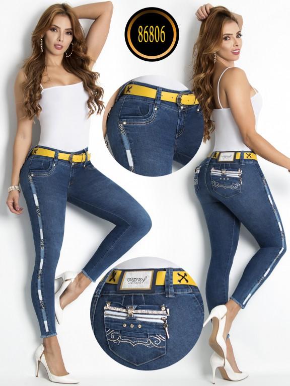 Jeans Levantacola - Ref. 243 -86806-W
