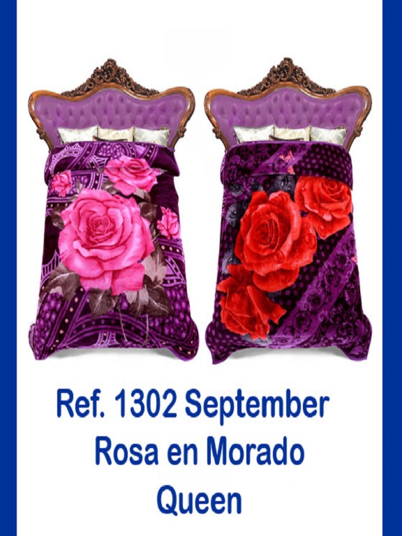 Cobija Q Morada - Ref. 272 -1302 Q Morada