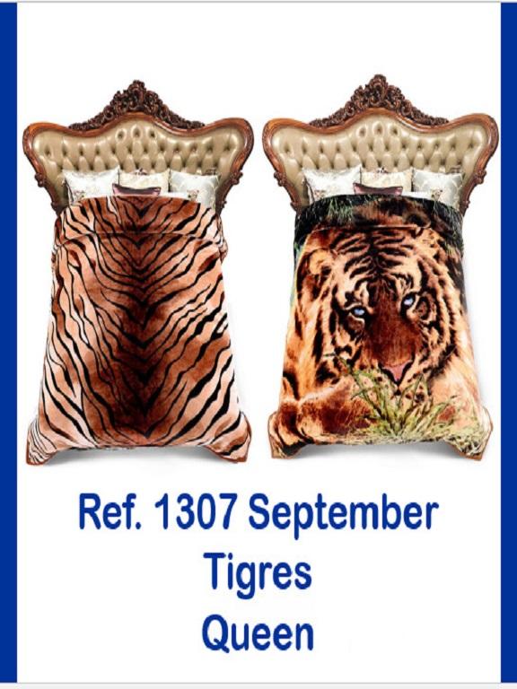 Cobija Q Tigres - Ref. 272 -1307 Q Tigres