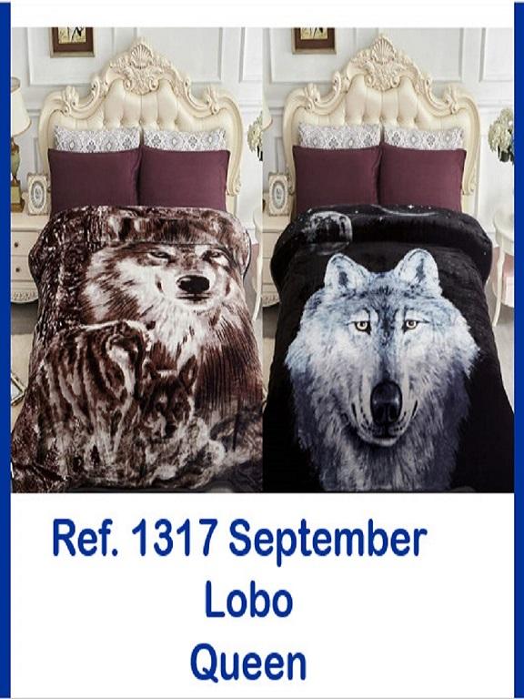 Cobija Q Lobos - Ref. 272 -1317 Q Lobos