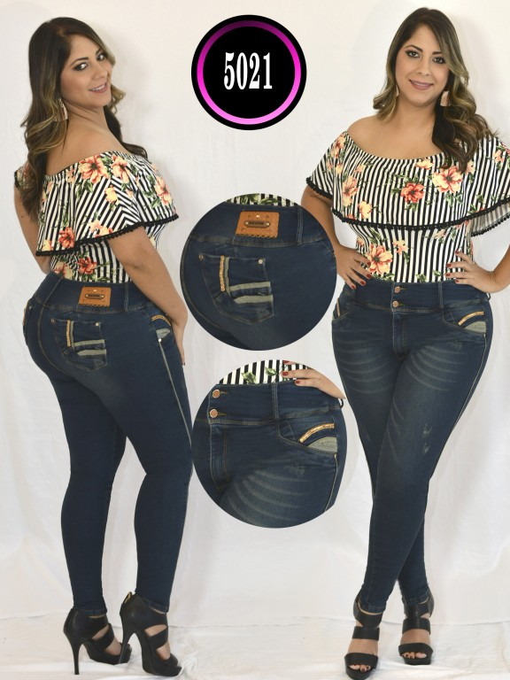 Jeans Colombiano Plus Size - Ref. 119 -5021 S Plus