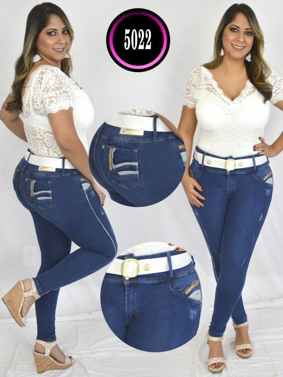 Jeans Colombiano Plus Size - Ref. 119 -5022 S Plus