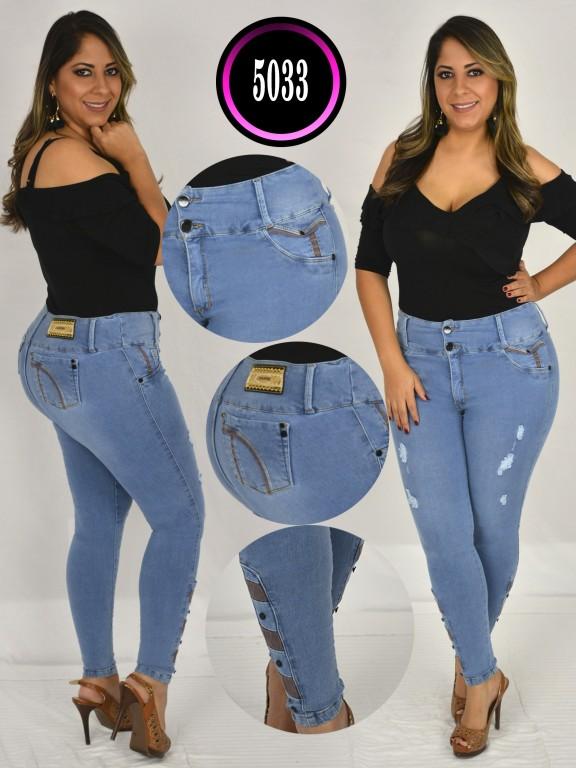 Colombian Jeans Plus Size - Ref. 119 -5033 S Plus