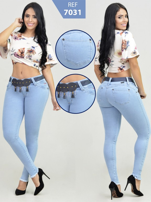 Jeans Levancola Colombiano - Ref. 261 -7031-R