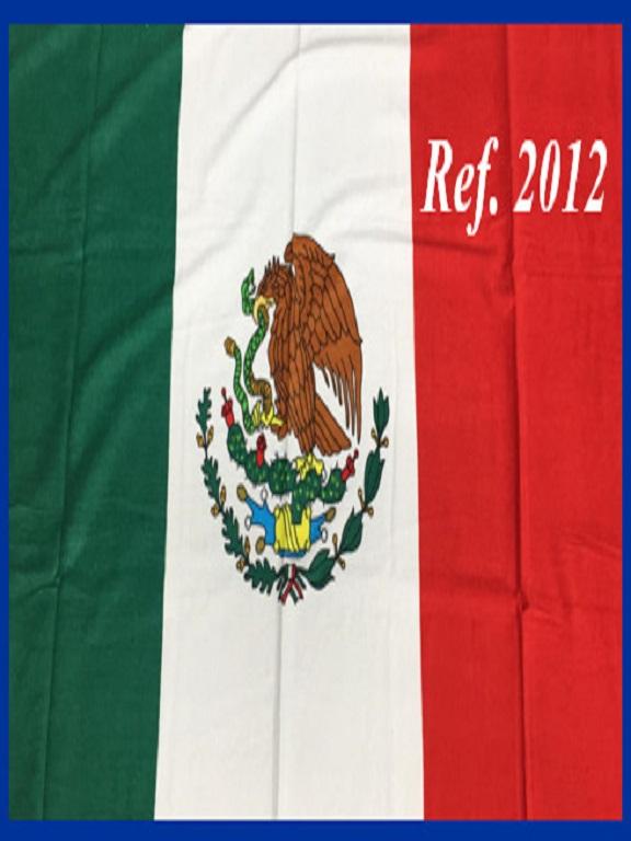 Toalla 2012 Mexico - Ref. 272 -2012 Mexico