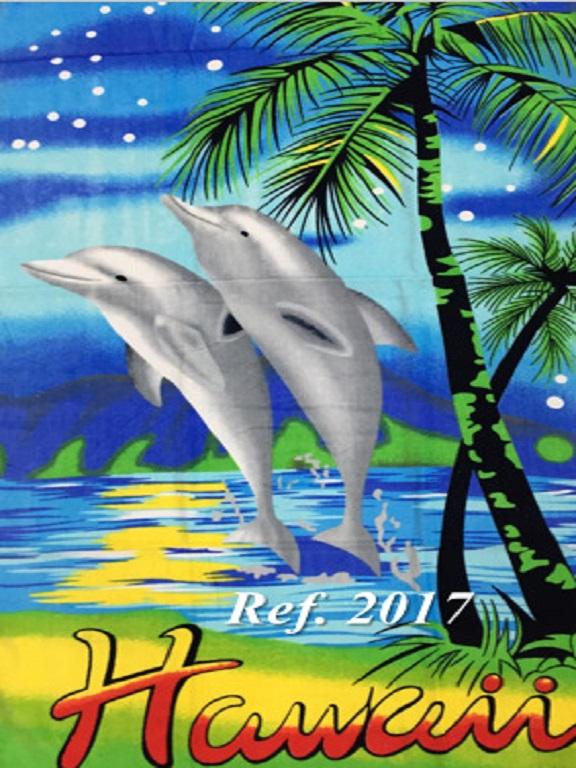 Toalla 2017 Delfin - Ref. 272 -2017 Delfin
