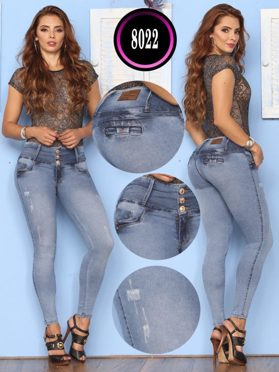 Jeans Levantacola Colombiano - Ref. 119 -8022