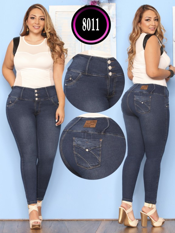 Butt lifting Jean - Ref. 119 -8011 Plus Size