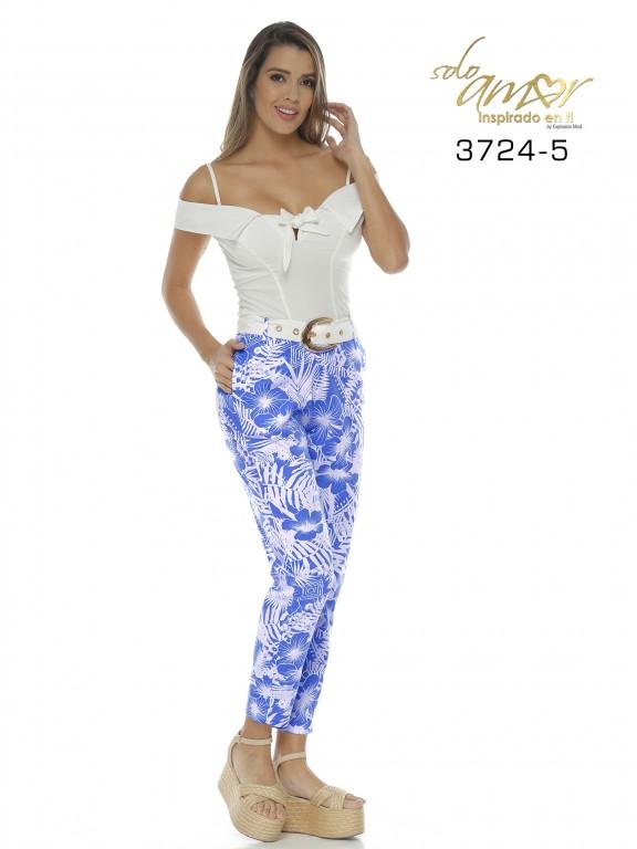 Enterizo Colombiano - Ref. 246 -3724-5 Azul