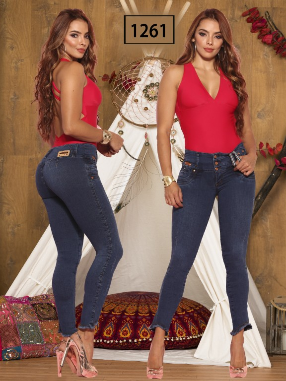 Jeans Levantacola Colombiano Thaxx Boutique - Ref. 119 -1261 TB