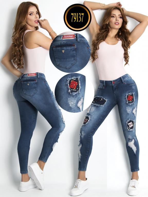 Jeans Levantacola - Ref. 243 -79137-L