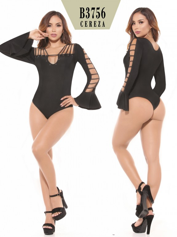 Body Reductor Colombiano - Ref. 111 -3756-2 Negro