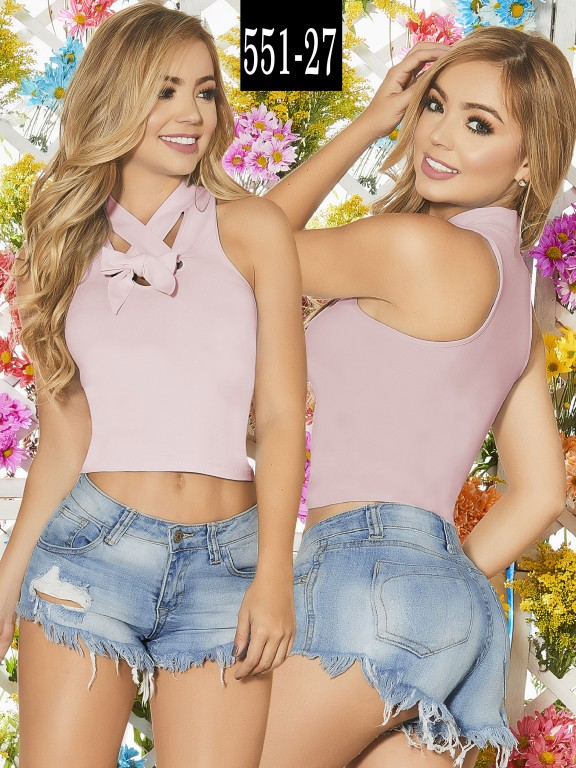 Blusa Colombiana - Ref. 268 -551-27 Candy