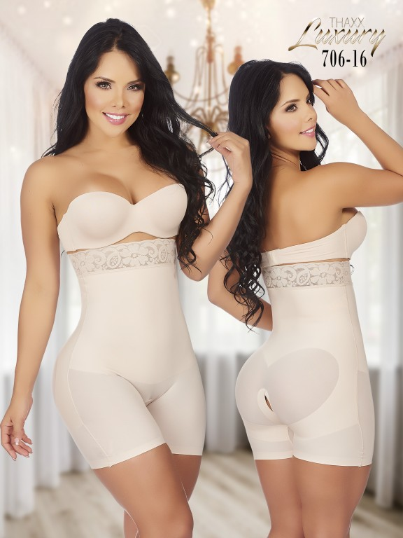 Thaxx Luxury Shapewear Short - Ref. 119 -706-16 Plus
