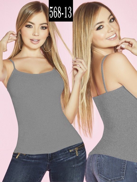 Blusa Colombiana - Ref. 268 -568-13 Gris