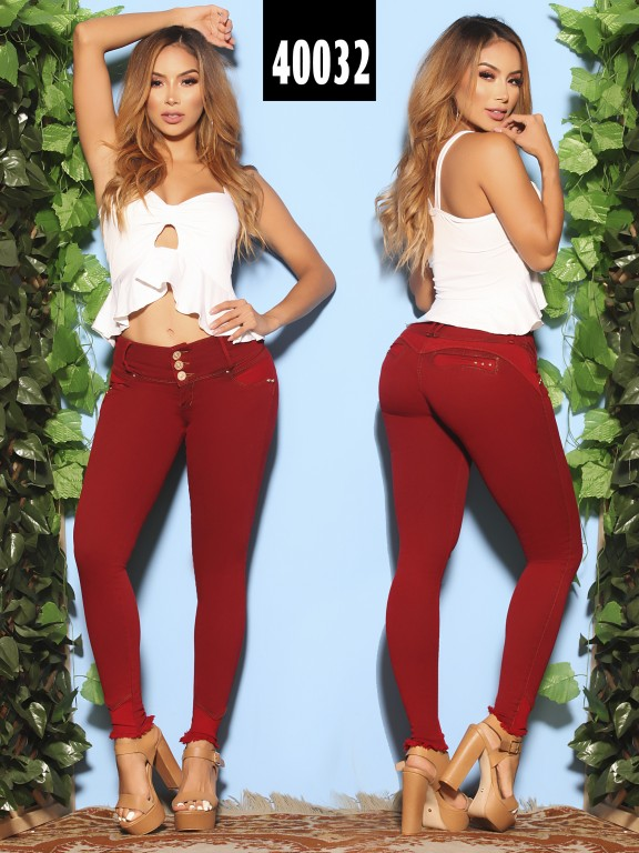Jeans Levantacola Colombiano  - Ref. 269 -40032