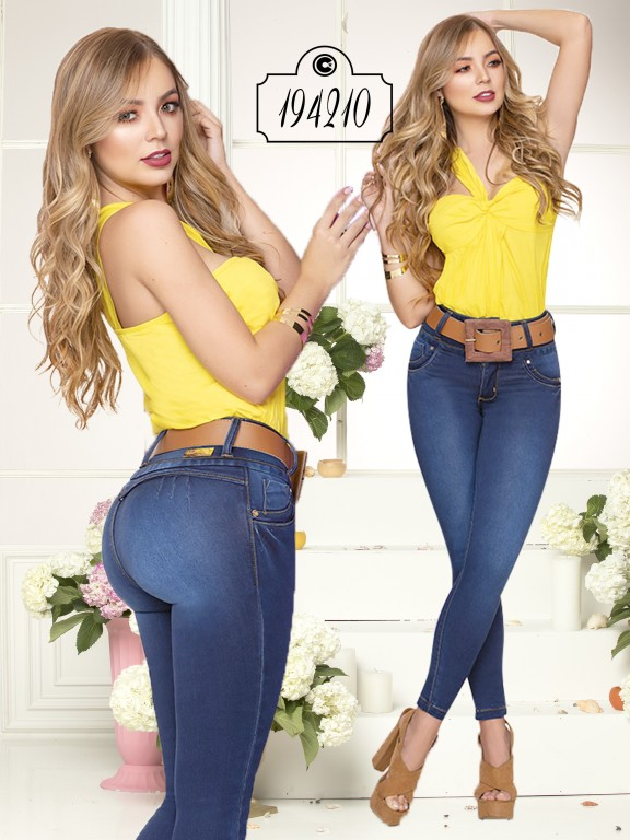 Jeans Levantacola Colombiano - Ref. 270 -194210