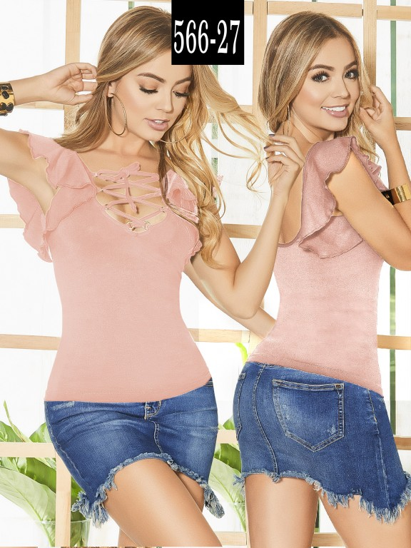 Blusa Colombiana - Ref. 268 -566-27 Candy