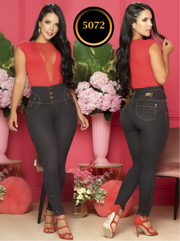 Colombian Butt lifting Jean - Ref. 119 -5072S Plus Size