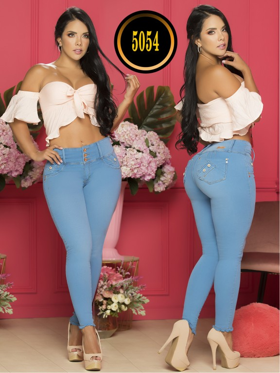 Colombian Butt lifting Jean - Ref. 119 -5054S Plus Size