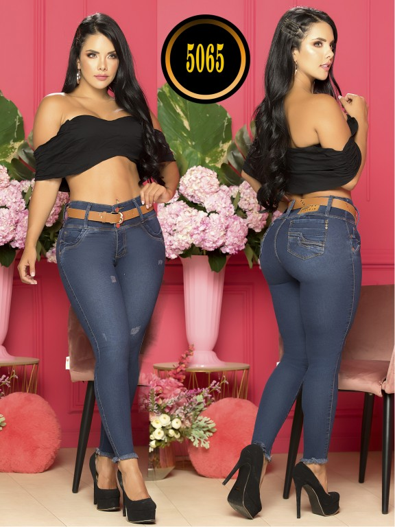 Colombian Butt lifting Jean - Ref. 119 -5065S Plus Size