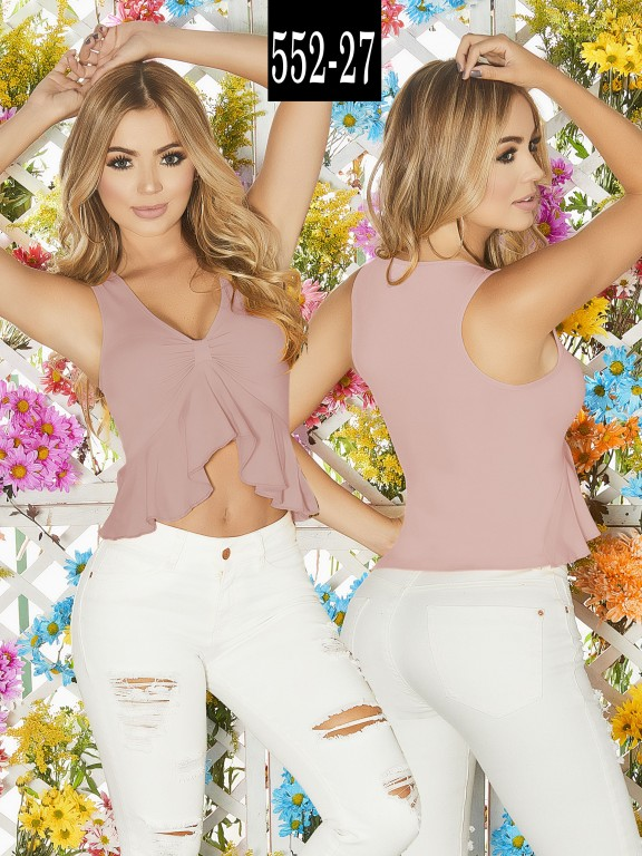 Blusa Colombiana - Ref. 268 -552-27 Candy