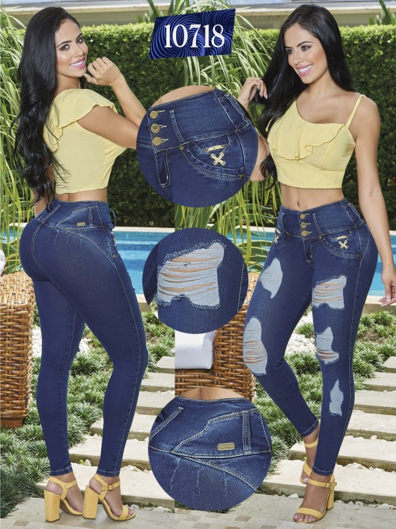 Colombian Butt lifting Jean - Ref. 123 -10718-TW