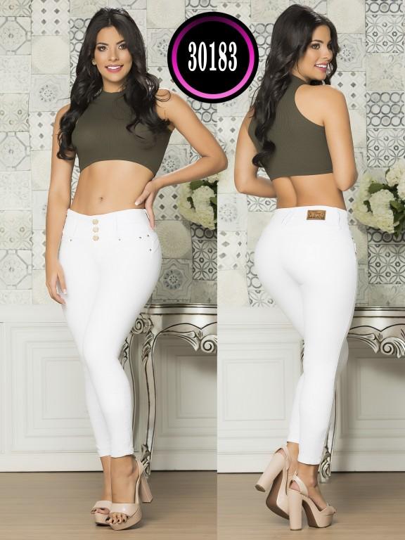 Jeans Levantacola Colombiano - Ref. 119 -30183TE