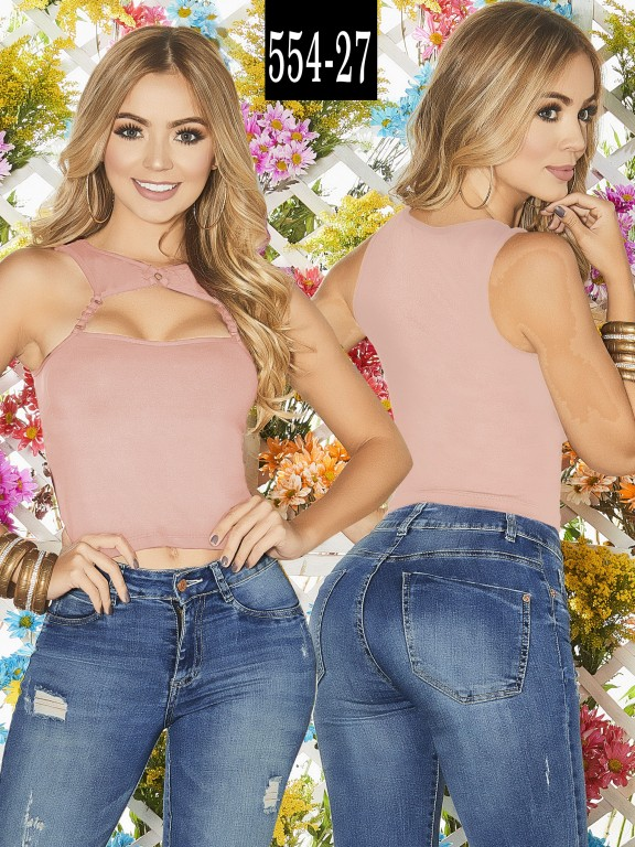 Blusa Colombiana - Ref. 268 -554-27 Candy