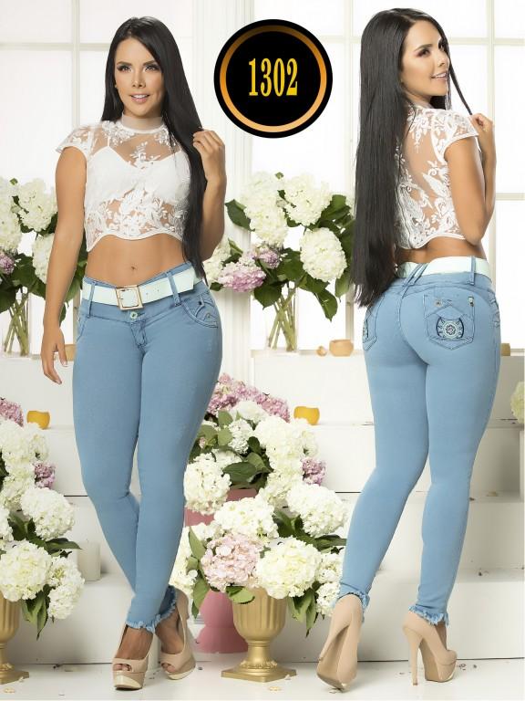 Colombian Jeans Plus Size - Ref. 119 -1302TB Plus Size