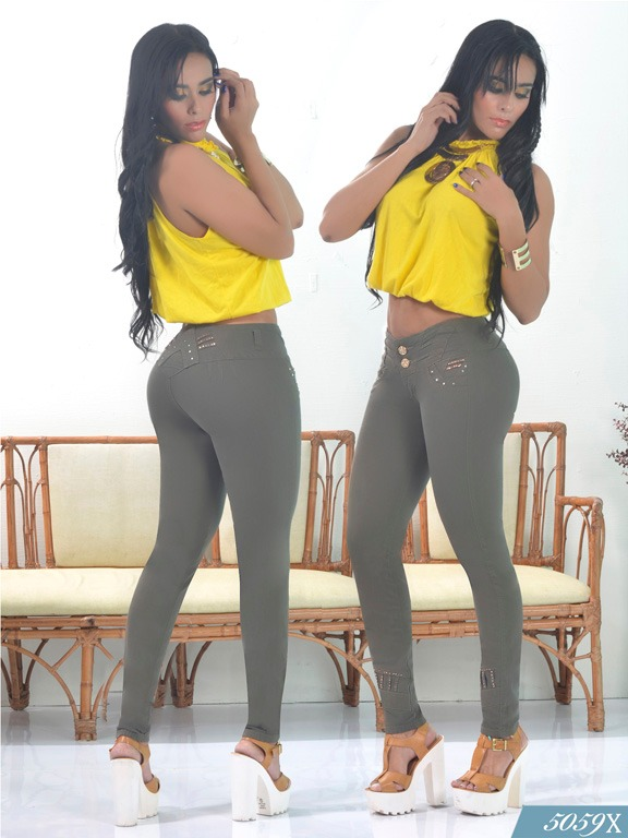 Jeans Levantacola Colombiano Xpice - Ref. 103 -5059X