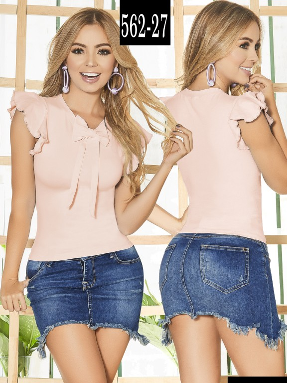 Blusa Colombiana - Ref. 268 -562-27 Candy