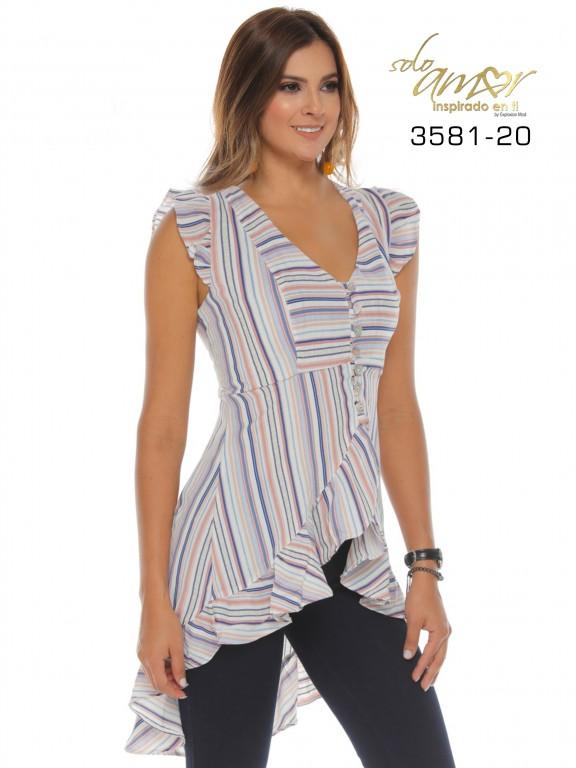 Blusa Moda Solo Amor - Ref. 246 -3581-20