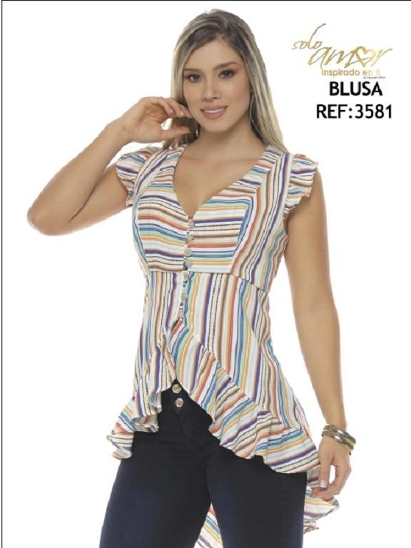 Blusa Moda Solo Amor - Ref. 246 -3581-6
