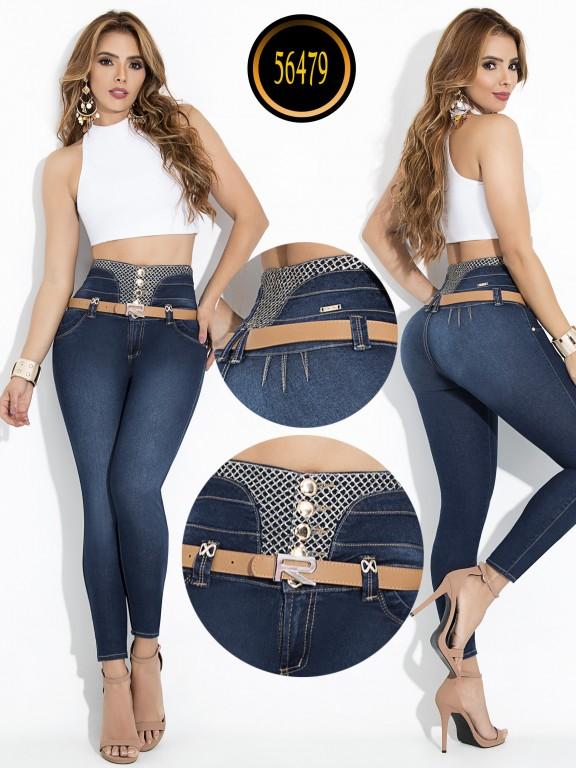 Jeans Colombiano Levantacola - Ref. 243 -56479-E