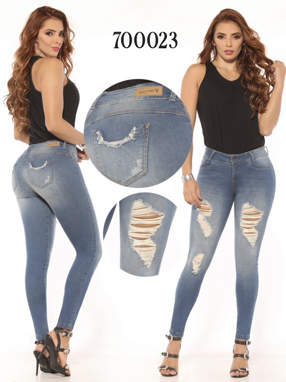 Jeans Levantacola Colombiano  - Ref. 260 -700023