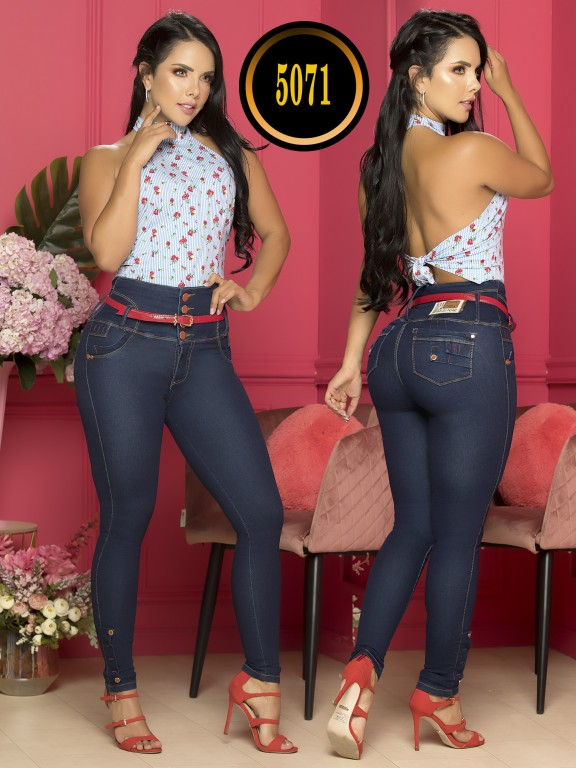 Jeans Levantacola Colombiano - Ref. 119 -5071S