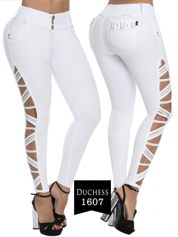 Jeans Levantacola Colombiano  - Ref. 237 -1607-S